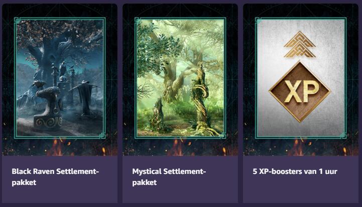 Assassin's Creed Valhalla: Druidic Settlement-bundel (gratis pakket) @Amazon Prime