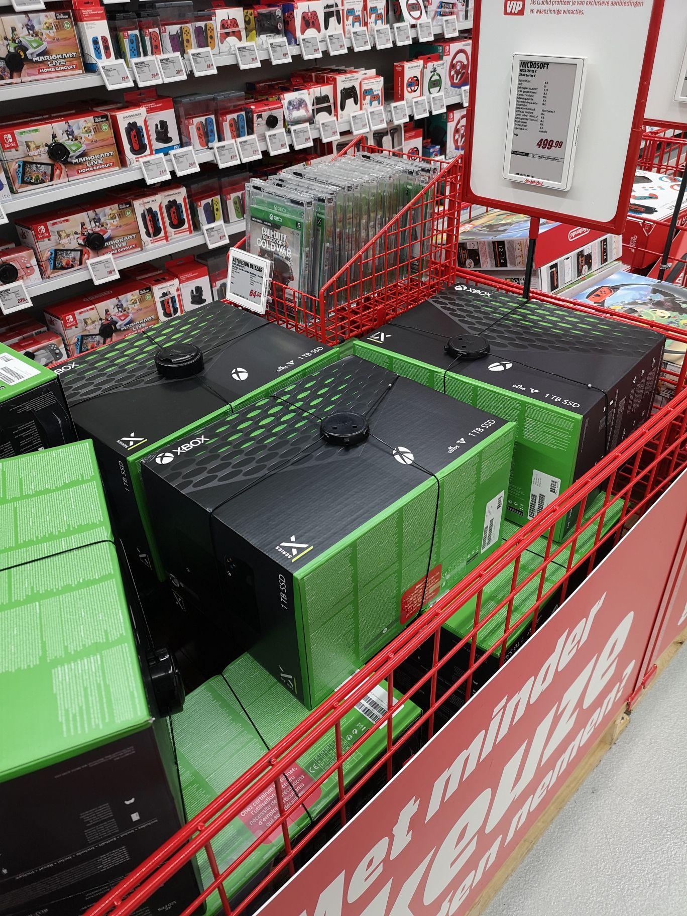 [lokaal] [uitverkocht] Xbox series X @MediaMarkt Groningen Centrum