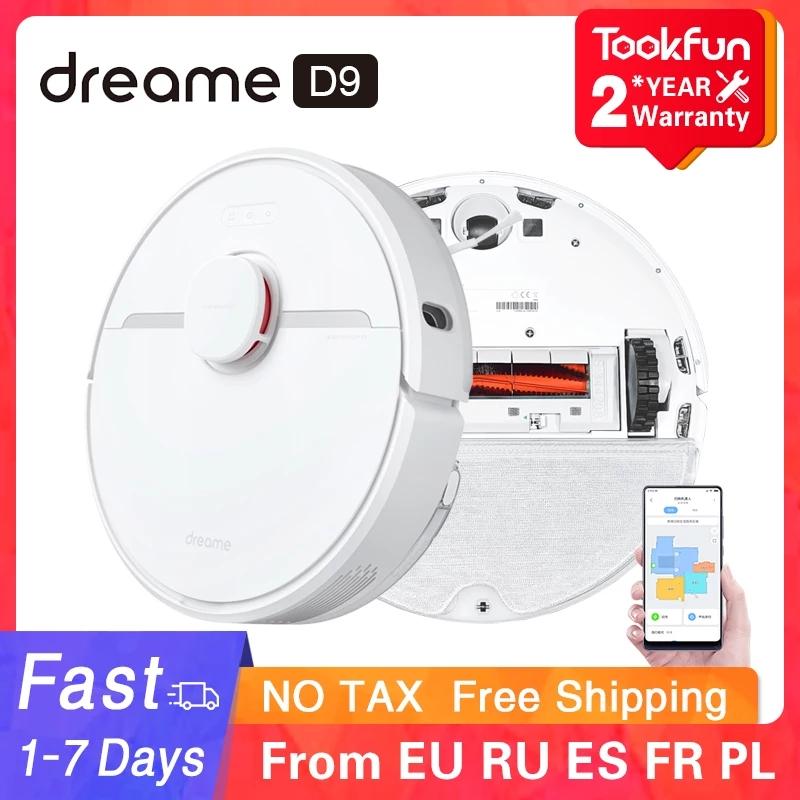 Robotstofzuiger Dreame D9 (via de App) @AliExpress