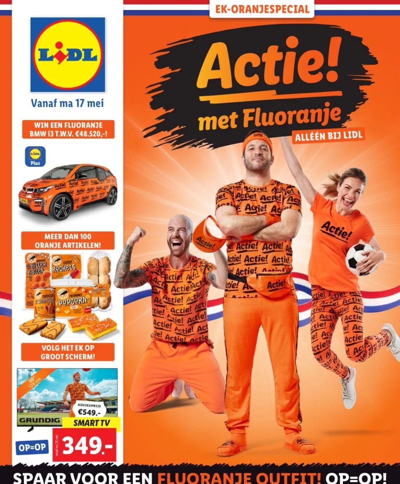 EK-Oranjespecial bij Lidl vanaf 17 Mei - LET'S GO!