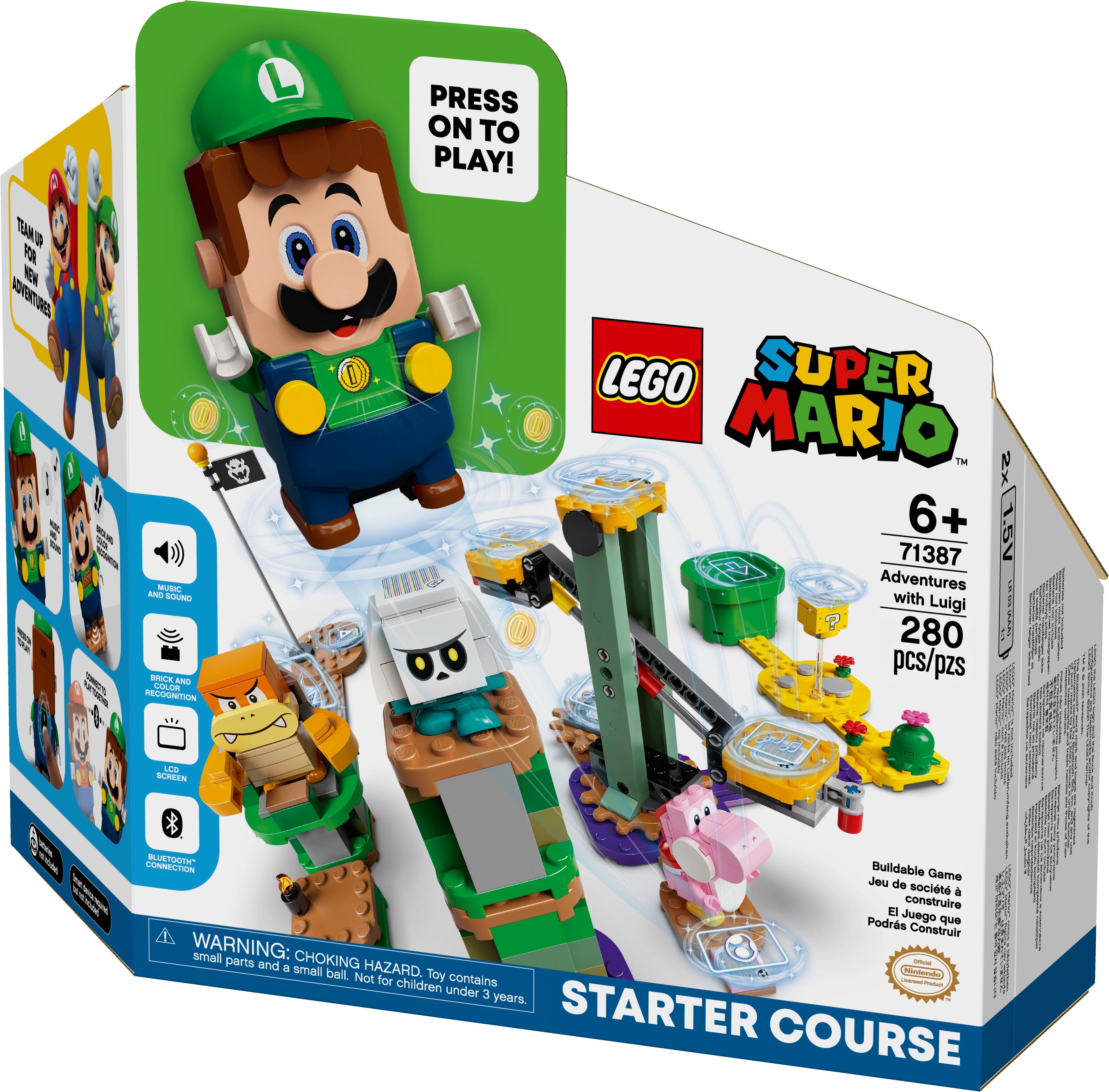 71387 Luigi Starter Bouwset €44,95   71360 Super Mario voor €32,49 met €10 coupon deal