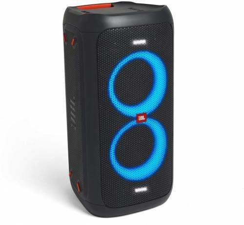 JBL Partbox 100 via ING Punten, krachtige accu bluetooth speaker met diep, luid en helder geluid (+ gratis JBL tune 210 oortjes twv €19,99)
