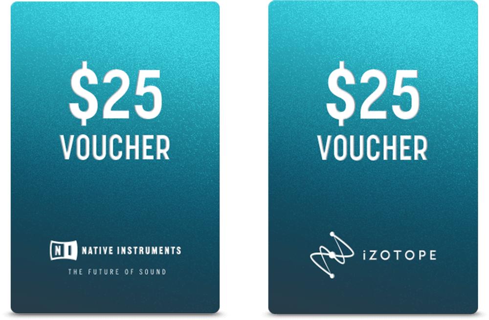 Native Instruments Hybrid Keys en Ozone elements gratis + 2x voucher 25,- gratis
