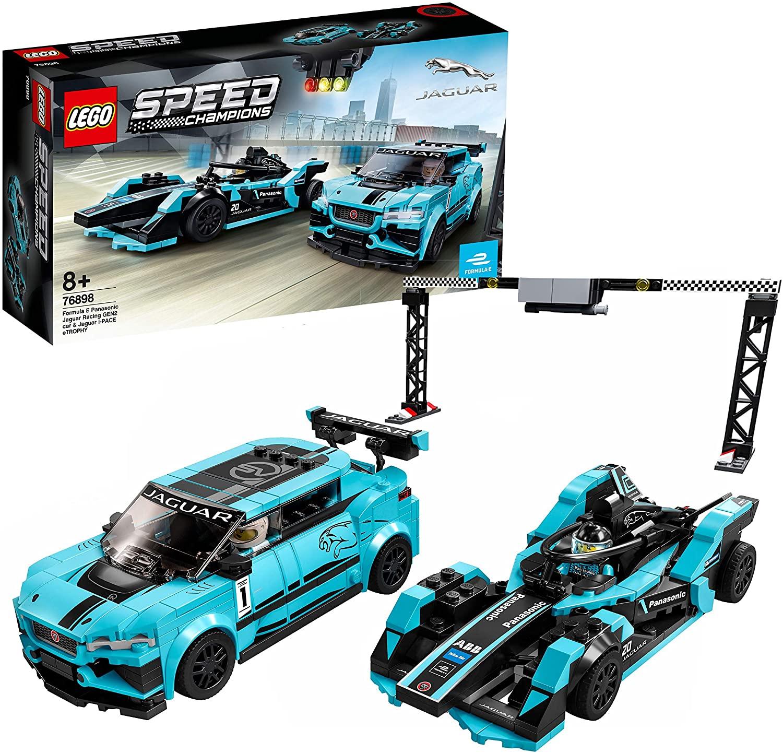 LEGO 76898 Speed Champions Formula E Panasonic Jaguar Racing GEN2