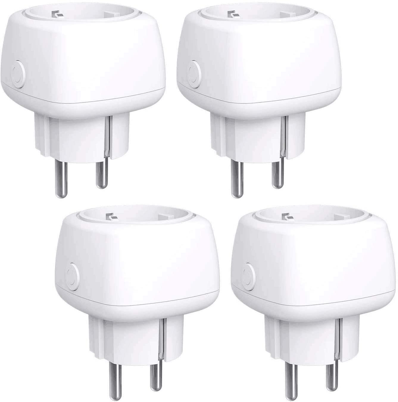 [4 stuks] Meross slimme WLAN stopcontacten (Alexa, Google Home, IFTTT) voor €22,99 met code @ Amazon NL