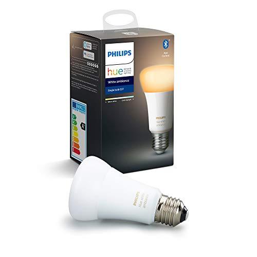 Philips Hue standaard lamp White Ambiance - E27 - Warm tot koelwit licht - Dimbaar