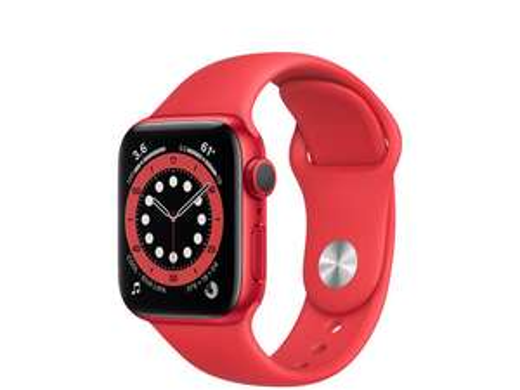 Apple Watch Series 6 40mm - rood