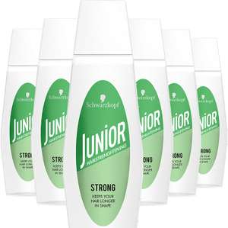Schwarzkopf Junior Hairspray Haarversteviger Strong 125ml , 6 stuks Merk: Schwarzkopf Junior Hairspray