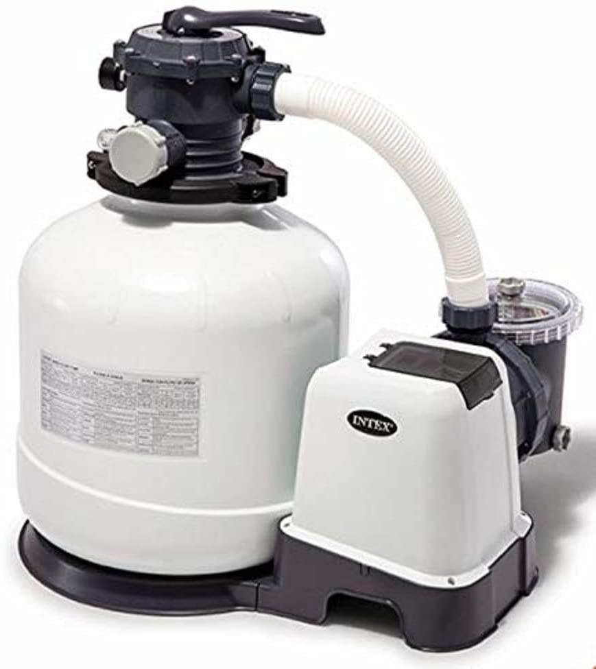 Intex zandfilter 10m3/h wit (niet op voorraad, wel te bestellen)