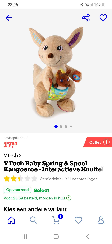 Vtech baby spring en speel kangoeroe