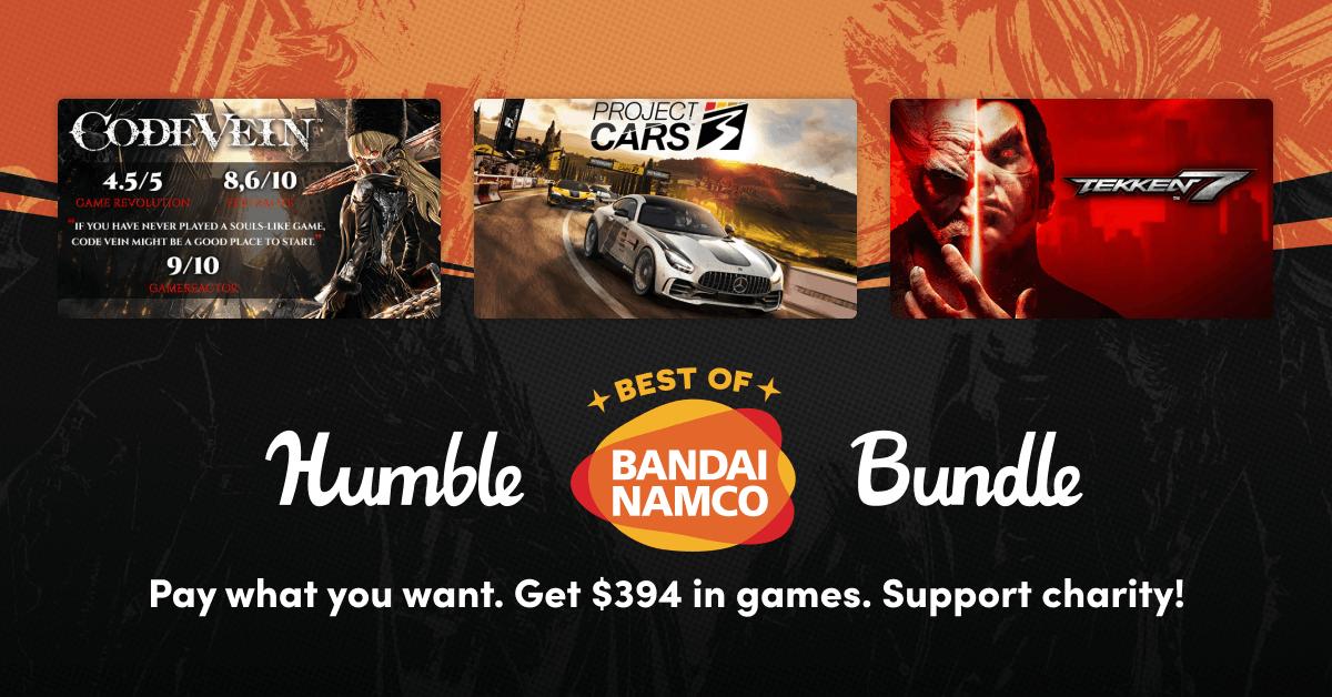 Humble Best of BANDAI NAMCO Bundle met o.a. Tekken 7, Katamari Damacy REROLL, Tales of Zestiria, Little Nightmares