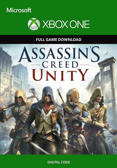 Assassin's Creed Unity voor de Xbox One - Digitale code