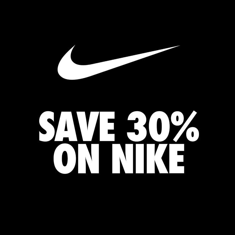 30% korting - ook op sale @ NIKE