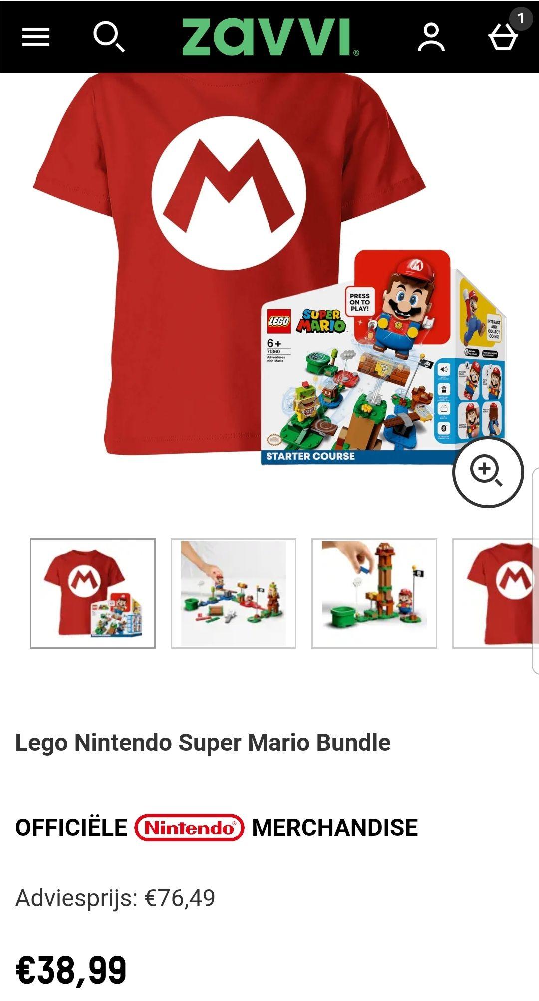 Lego Nintendo Super Mario Bundle