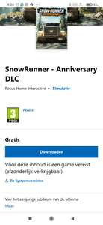 Snowrunner Anniversary gratis DLC - Xbox/Playstation
