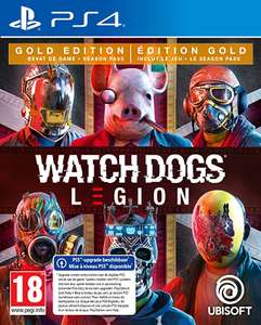 Watch Dogs Legion - Gold Edition (PS4/Xbox One - Xbox Series X)
