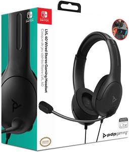 PDP LVL40 stereo-headset voor Nintendo Switch @ Amazon.nl