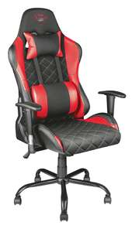 Trust GXT 707R Resto Gaming Chair (v2) rood en grijs