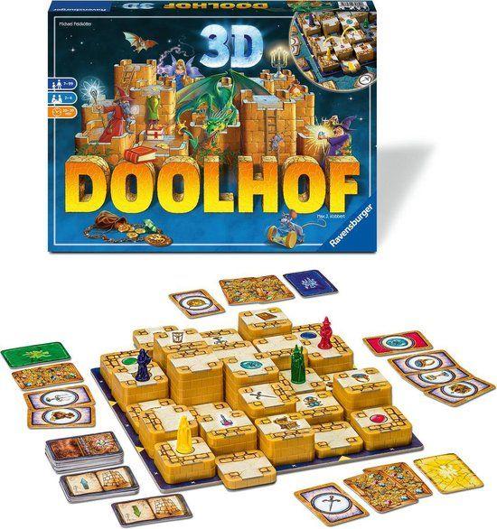 Ravensburger Doolhof 3D - Bordspel