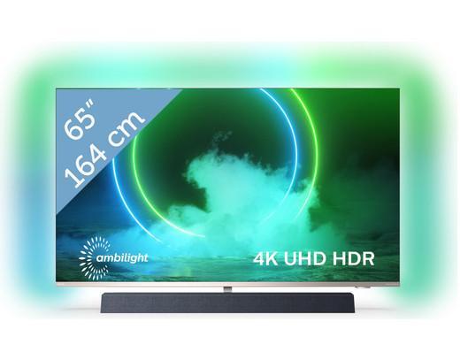 "Philips 4K UHD 65"" Android Smart TV B&W Sound 3-zijdig Ambilight 65PUS9435"