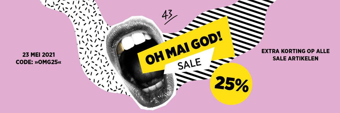 25% extra korting op SALE bij 43EINHALB Sneaker store