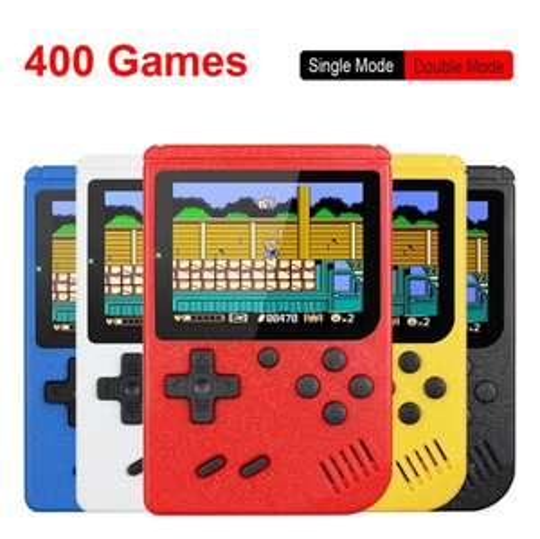 Retro Draagbare Mini Handheld Video Game Console 8-Bit 3.0 Inch Kleuren Lcd Kids Kleur Game Player Ingebouwde 400 Games