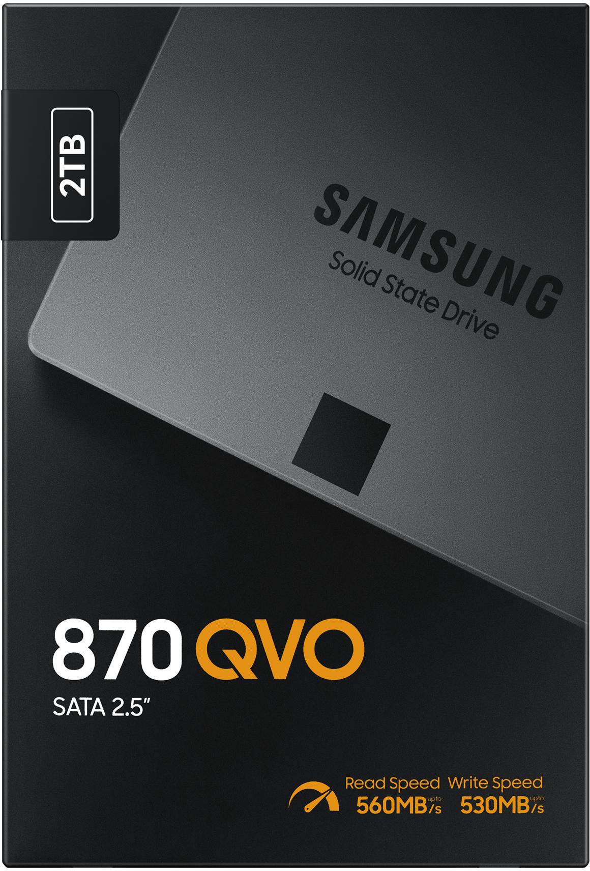 Samsung 870 QVO 2TB SSD (met kortingscode €139,90) @ Amazon NL