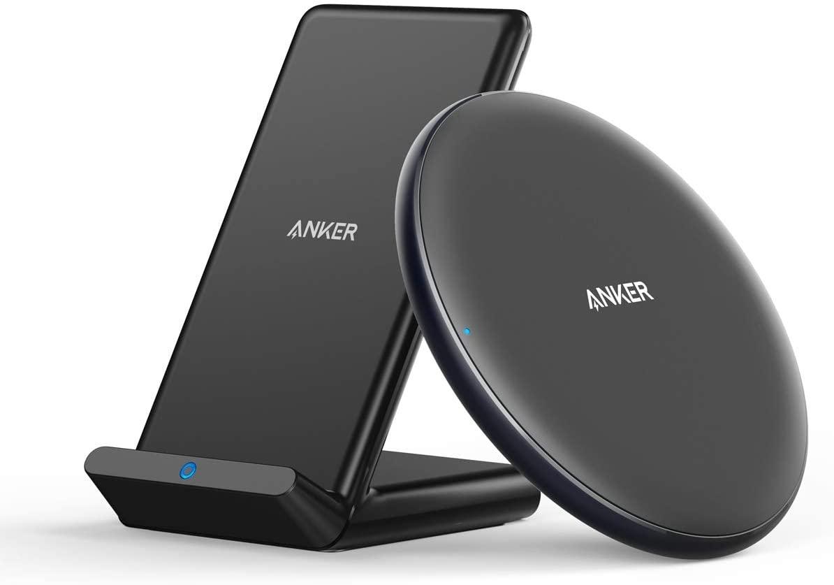 Anker PowerWave qi draadloze opladers (2 pack) voor €23,99 @ Amazon NL