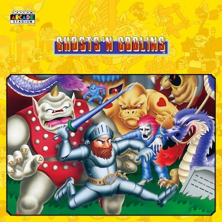 Capcom Arcade Stadium: Ghosts 'n Goblins (PS4) gratis voor PS+ leden @ PSN