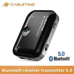 CableTime Bluetooth 5.0 receiver/transmitter [10-daagse levering]