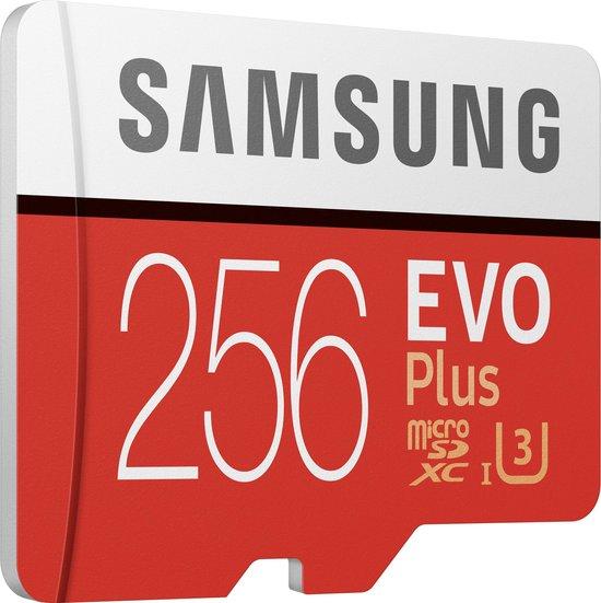 Samsung EVO Plus MicroSDXC 256 GB - Versie 2020