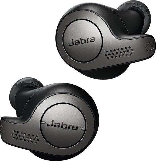 Jabra Elite 65t (Titanium zwart) - draadloze oordopjes