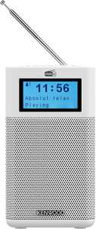 Kenwood CR-M10DAB-W compacte radio (DAB+, FM, Bluetooth, Line-In, wekfunctie)