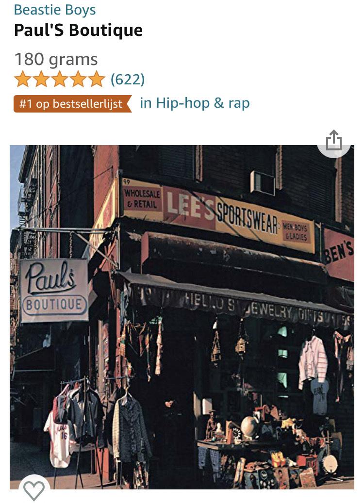 LP Beastie Boys - Paul's Boutique
