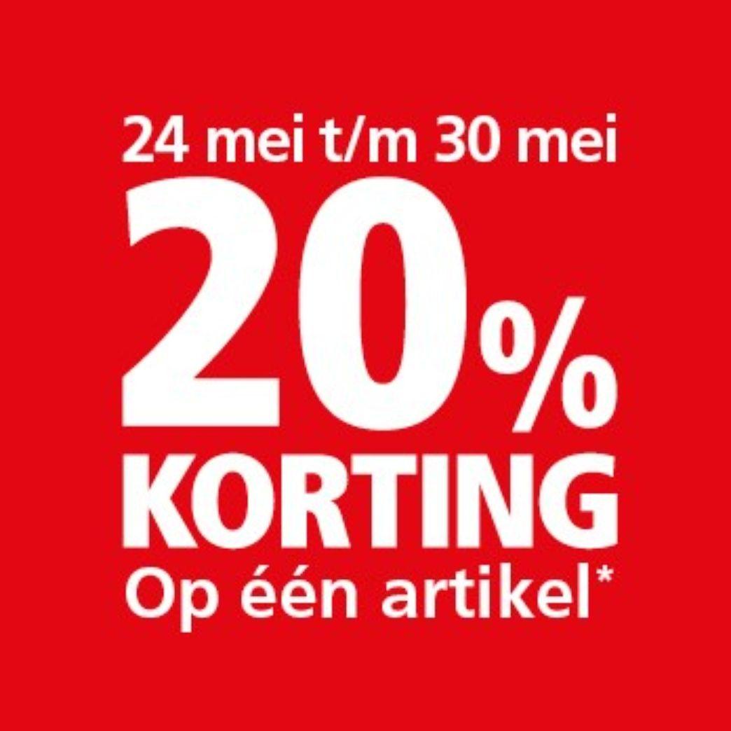 20% Korting Welkoop (alleen in de winkel)