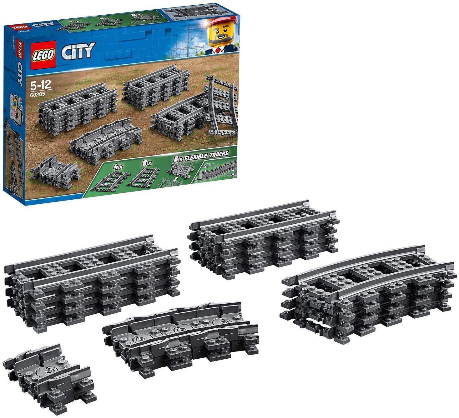 Lego trainrails 60205 voor een prikkie
