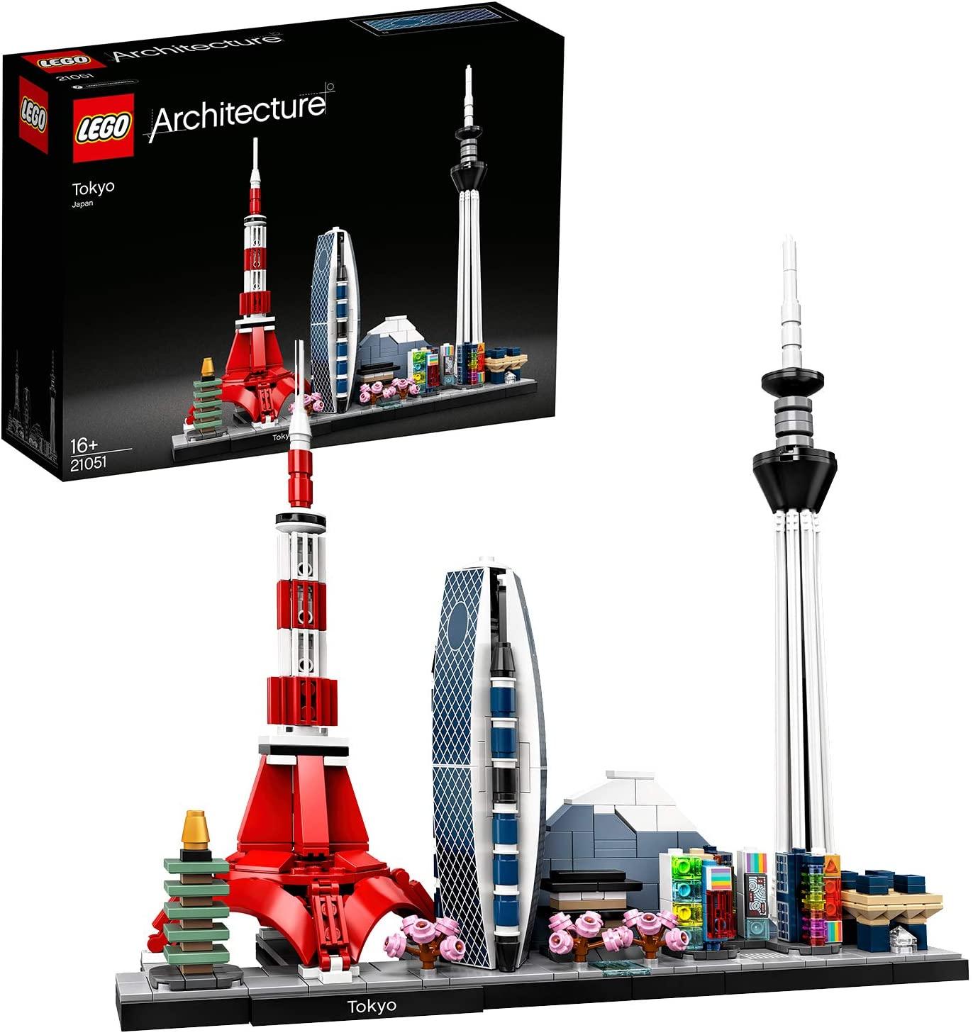 LEGO 21051 Architecture Tokio Model Bouwset, Skyline collectie