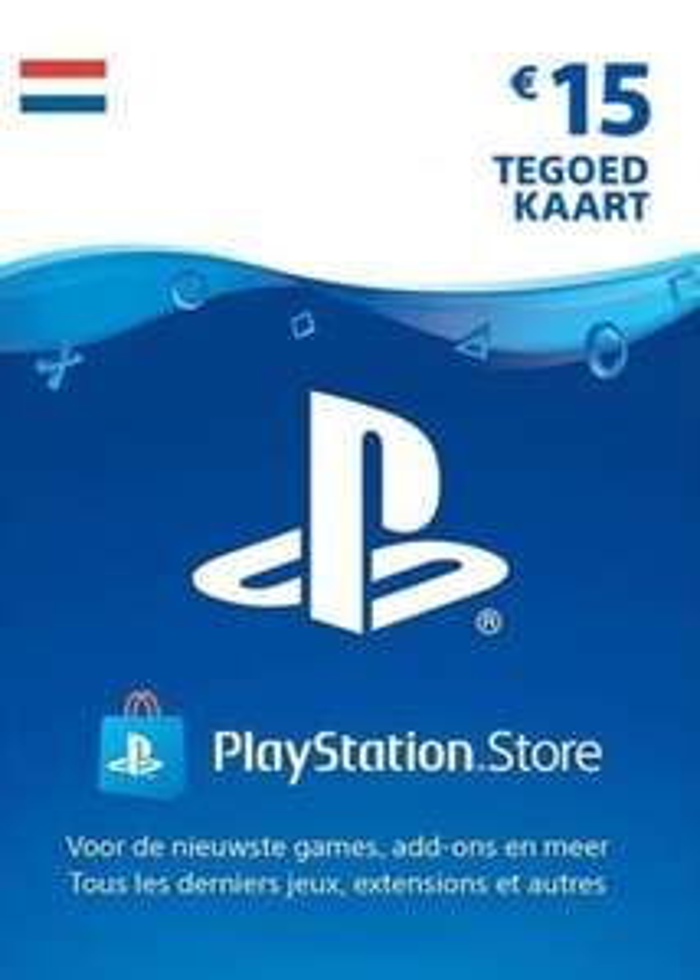 PlayStation Network NL €15 tegoedkaart (digitale code) voor €12,75 @ Eneba