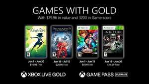 Xbox Games with Gold juni 2021