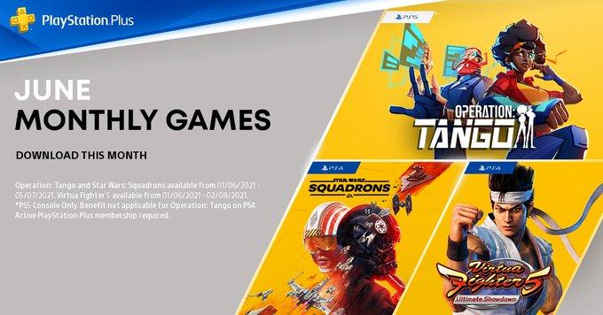 PlayStation Plus games van juni 2021