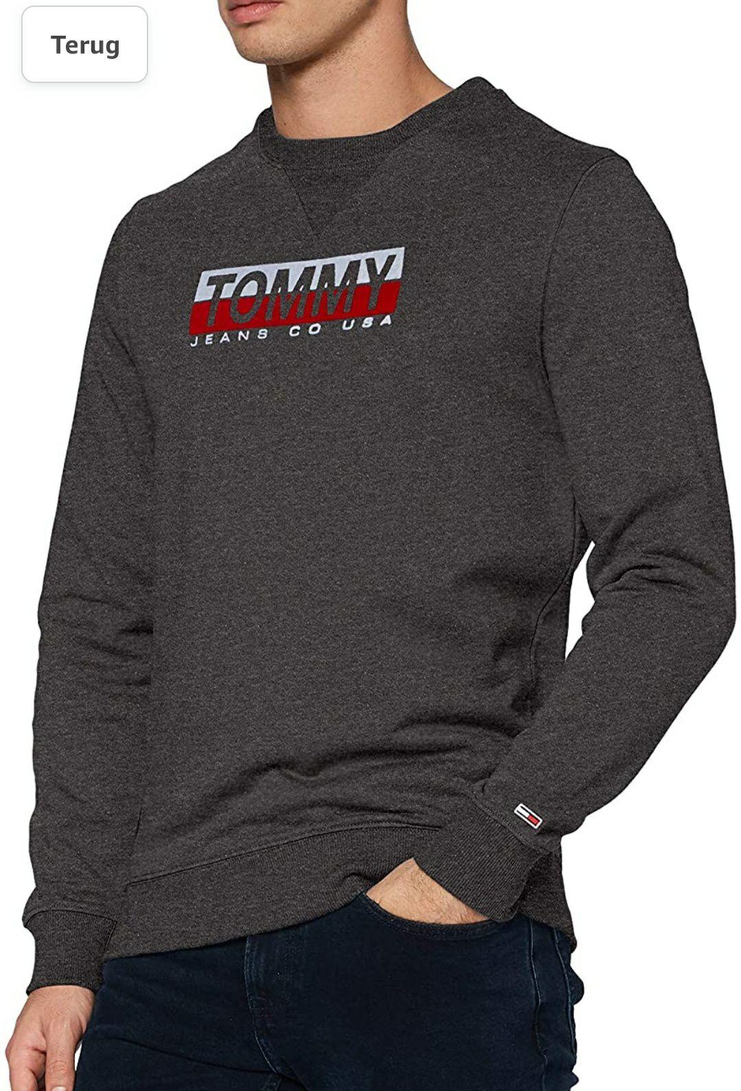Tommy Jeans TJM ESSENTIAL SPLIT BOX Sweater