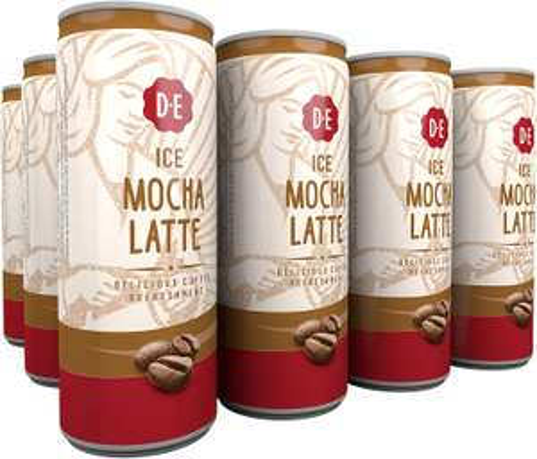 Douwe Egberts IJskoffie Ice Mocha Latte/Ice Cappuccino – 12 x 250 Milliliter