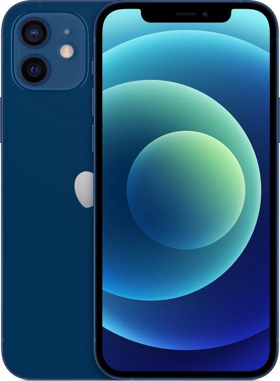 Apple iPhone 12 - 64GB - Blauw (zonder oortjes/adapter)