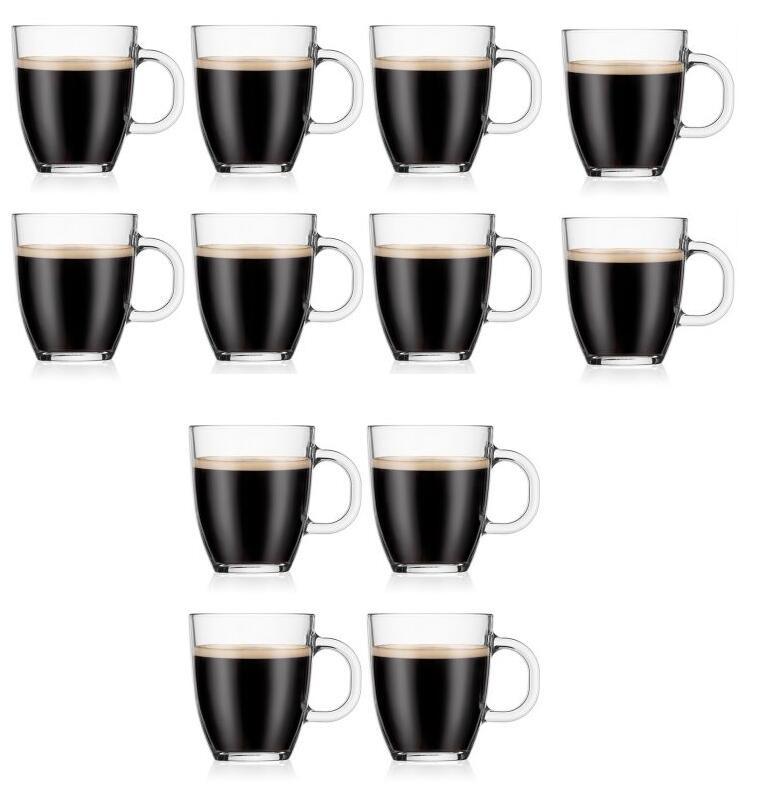 12 Bodum Bistro 0.3L koffiemokken + 1 Bodum Bistro 0.35L mok voor €35,86 @ Bodum
