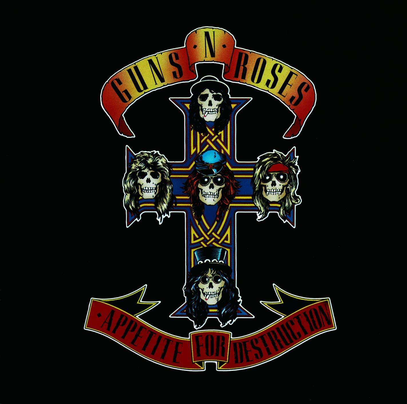 Guns N' Roses - Appetite for Destruction LP