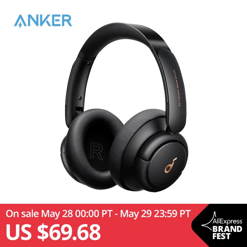 Soundcore by Anker Life Q30-hoofdtelefoon met hybride actieve ruisonderdrukking en meerdere modi, Hi-Res, 40 uur afspeeltijd [Officieel]