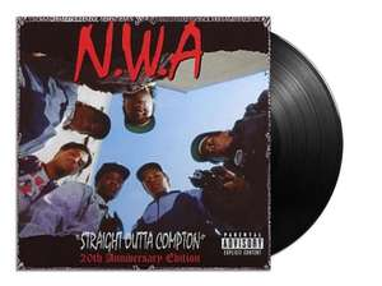 Vinyl! NWA - Straight Outta Compton