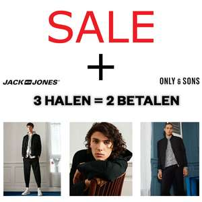 SALE Jack & Jones / Only & Sons EN 2 + 1 GRATIS