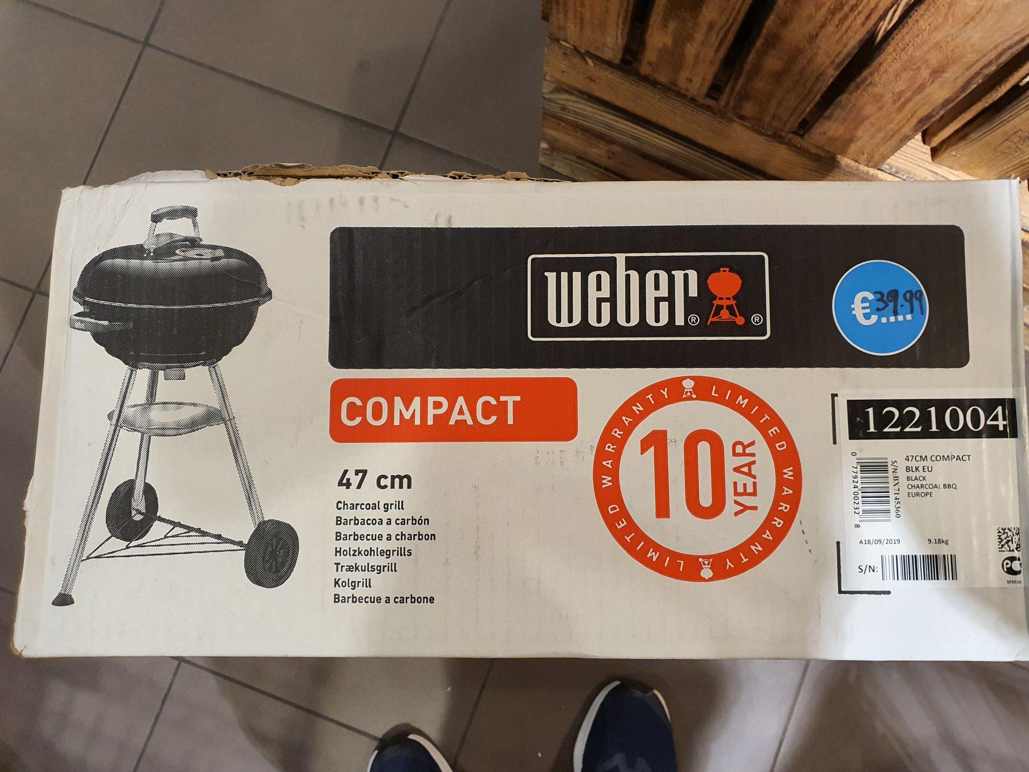 (AH Lokaal Moordrecht) Weber Compact 47 cm bbq
