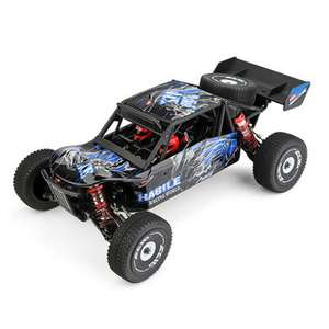 Wltoys 124018 1:12 4WD 60km/h Metal Chassis RC Buggy